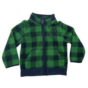 Baby Gap Boys Coat Size 3 yrs Blue Green Zippered